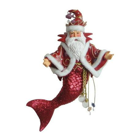 - December Diamonds King Neptune II Merman Christmas Holiday Ornament