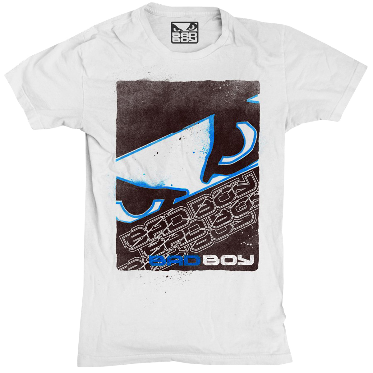 Bad Boy Youth Face Puncher T-Shirt - White