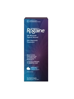 Women's Rogaine Rogaine Sub-Brand Topical Foam with 5% Minoxidil, Two Month Supply