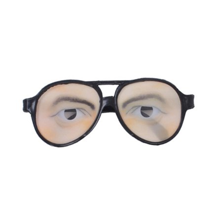 Halloween Trick Toy Male Funny Eyes Glasses Prank Disguise Eyeglass Party Props for $<!---->
