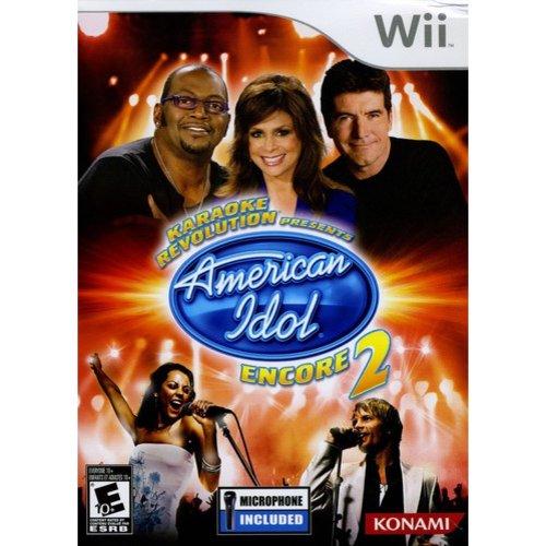 Karaoke Revolution: American Idol Encore 2 Bundle (Wii)