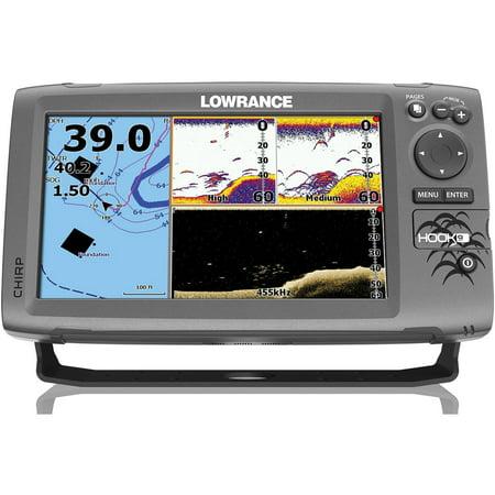 Lowrance 000-12668-001 HOOK-9 Fishfinder/Chartplotter