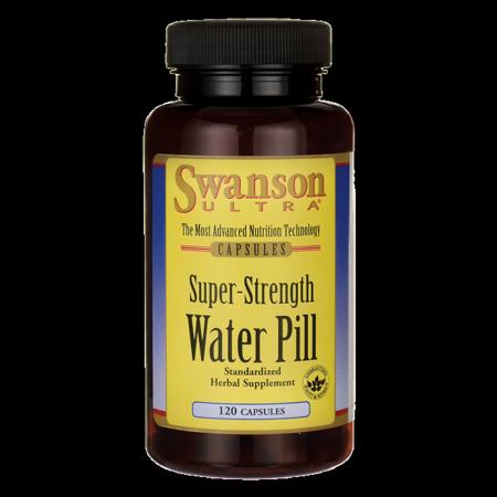 60 Caps Supplement Pills - Swanson Super-Strength Water Pill 20 mg 120 Caps
