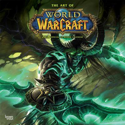 World of Warcraft 2018 12 x 12 Inch Monthly Square Wall Calendar, Video  Game Blizzard Entertainment WoW