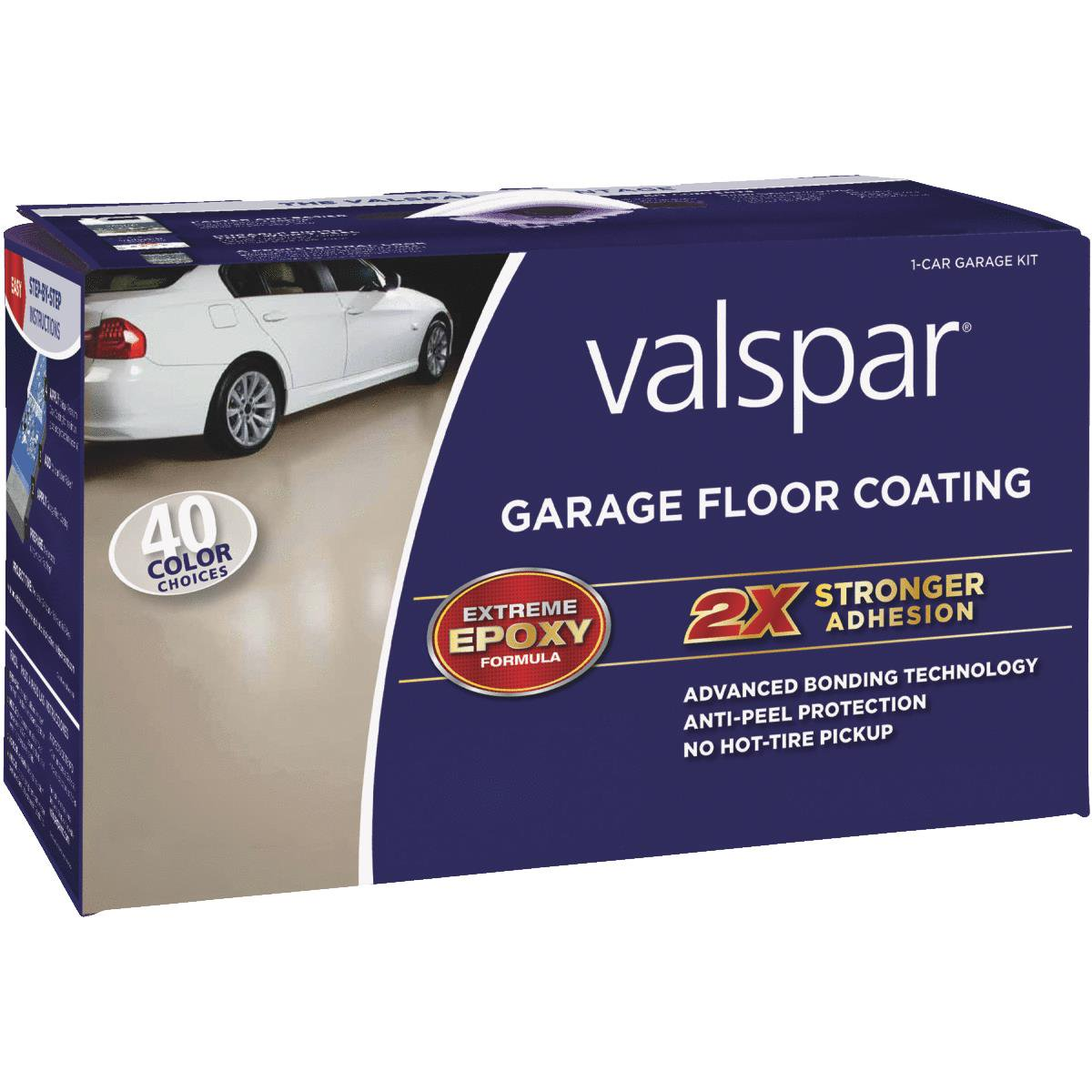 Valspar Low VOC Garage Floor Coating Kit