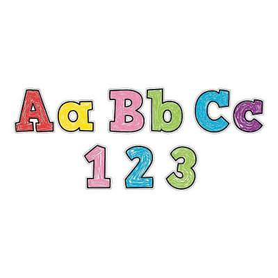 IN-13776056 Doodle Bulletin Board Letters 1 (Bulletin Letter)