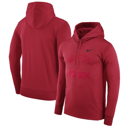 Boston Red Sox Nike Therma Pullover Hoodie - (Nike Stores)