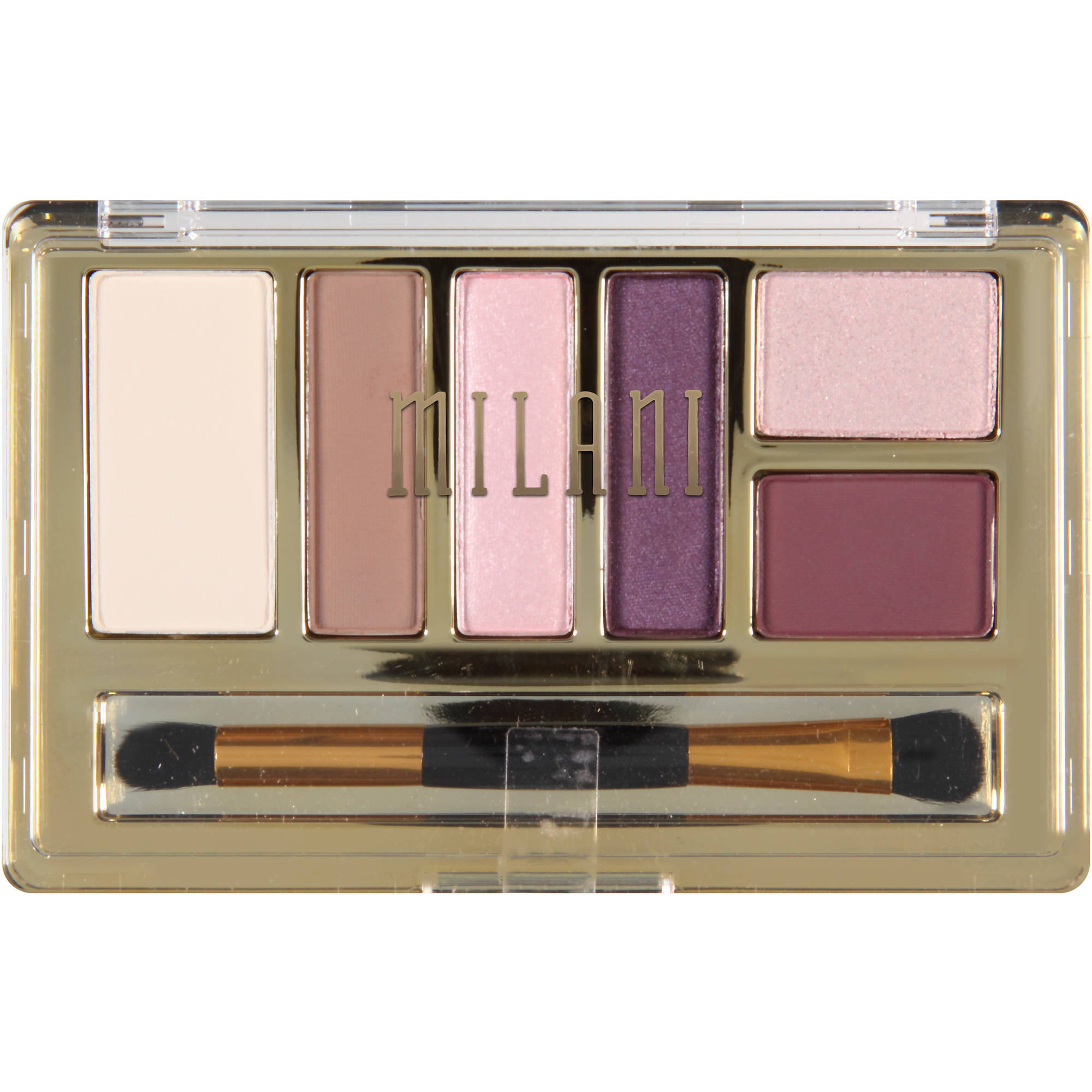 Milani Everyday Eyes Eyeshadow Collection, 04 Plum Basics, 0.21 oz