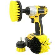 Drillbrush Drill Brush Cleaning Tool Attachment Kit General Purpose Scrubbing