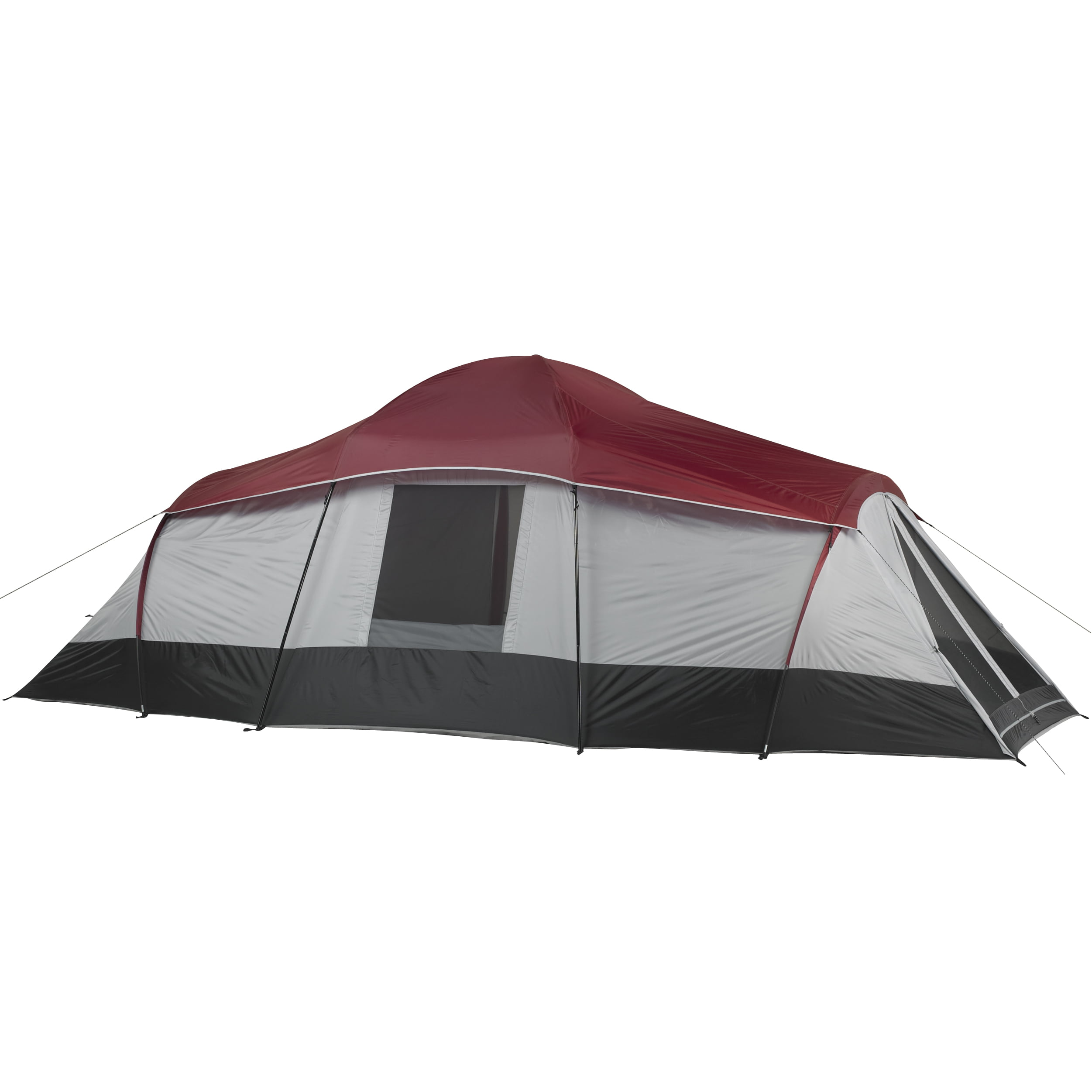 13b53b3e32 Ozark Trail 10-Person 3-Room Cabin Tent with 2 Side Entrances ...