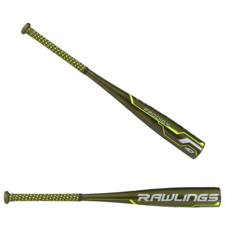 New Rawlings Ut8p34 Prodigy Green Senior League Baseball Bat 2 3 4
