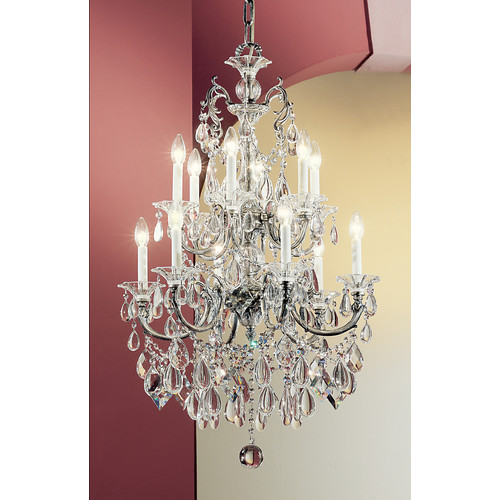Classic Lighting Via Venteo 12 Light Chandelier