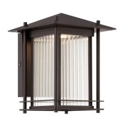 LED32521-BNB-Designers Fountain-Hadley - 7 13W LED Wall Lantern  Burnished Bronze Finish with Clear