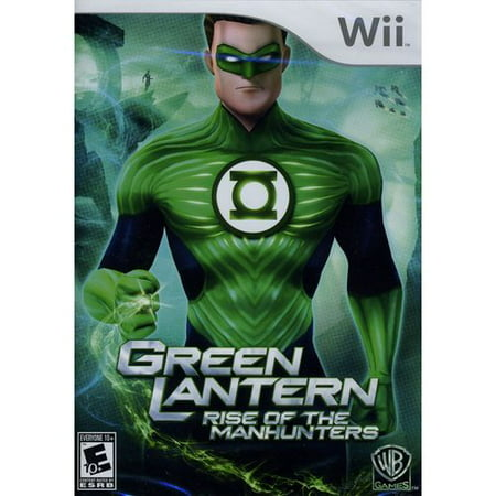 Green Lantern: Rise Of Manhunters (Wii)