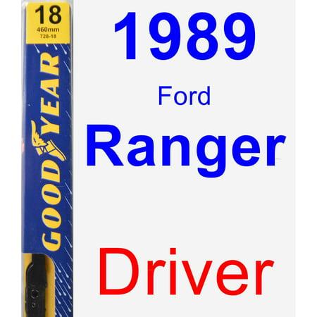 (1989 Ford Ranger Driver Wiper Blade - Premium)