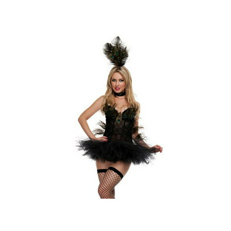 Burlesque Peacock Costume (Starline, LLC. Exotic Peacock Costume S2152)