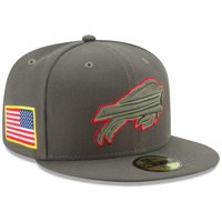 Buffalo Bills New Era Youth 2017 Salute To Service 59FIFTY Fitted Hat - Olive