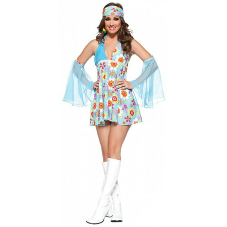 Freestanding Wood Costumer (Free Spirit Adult Costume - X-Large )
