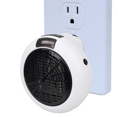 Insta Heater Small Personal Portable Space Heater, Ceramic Heater with Auto Shut off, Stay Cool Housing for Office, Bedroom, Bathroom and Garage ()