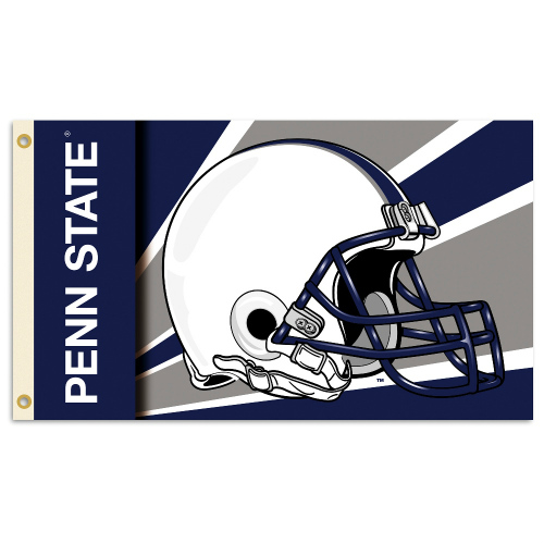 BSI PRODUCTS, INC.Penn State Nittany Lions 3 Ft. X 5 Ft. Flag W/Grommets - Helmet Design - Collegiate / College / NCAA Licensed #95506