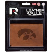 Iowa Embossed Leather Trifold Wallet (Manmade Interior)
