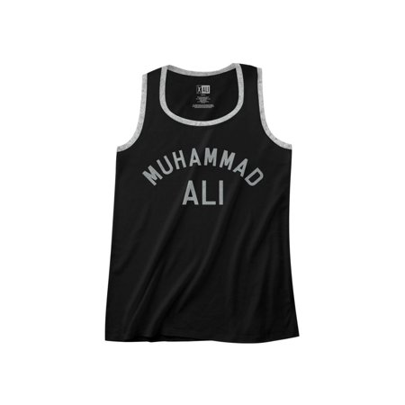 60s Mens Clothes (Muhammad Ali 60s Goat Greatest Boxer Of All Time Adult Ringer Tank Top)