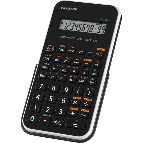 Sharp Scientific Calculator, EL-501XBWH
