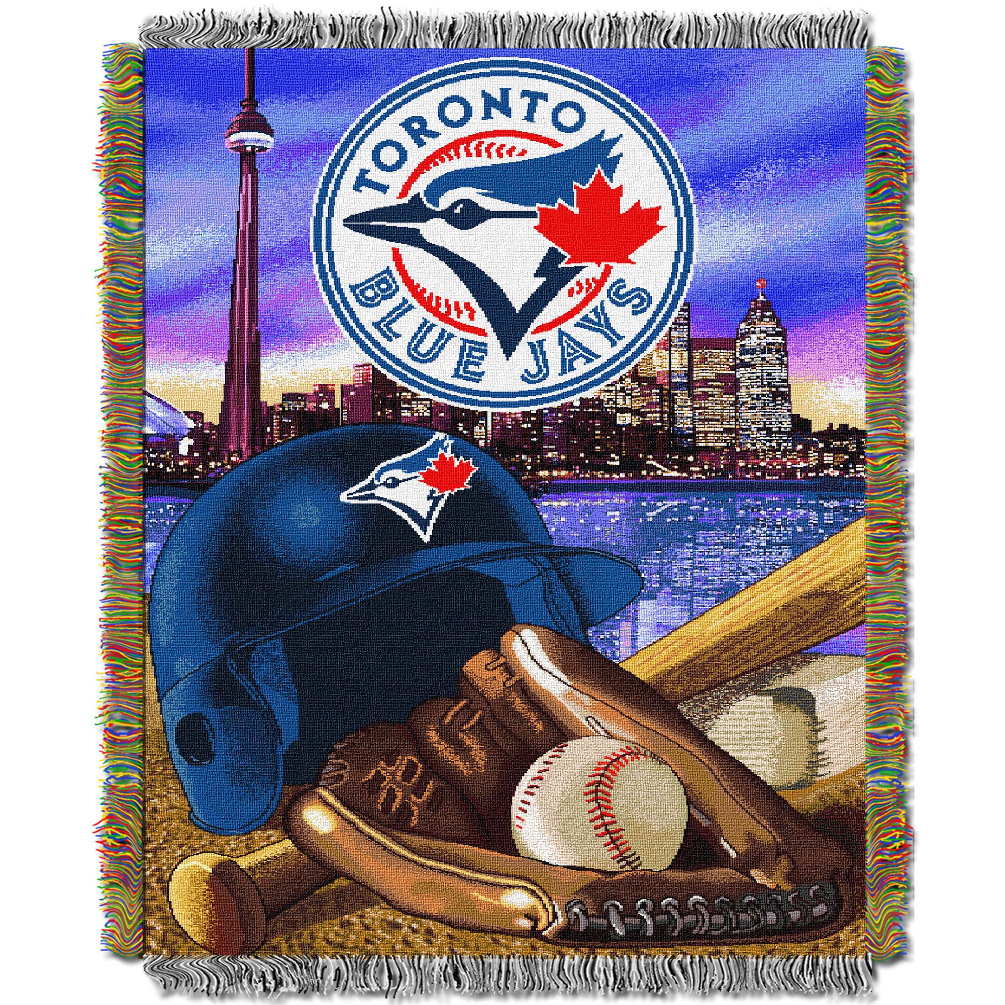 Toronto Blue Jays The Northwest Company 48'' x 60'' Home Advantage Woven Throw - No Size