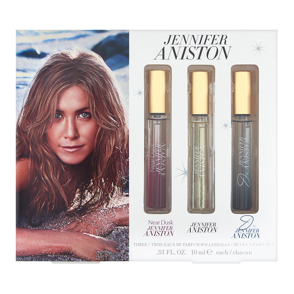 Jennifer Aniston Fragrance Collection Rollerball Set 3 Piece Set x 0.33 oz