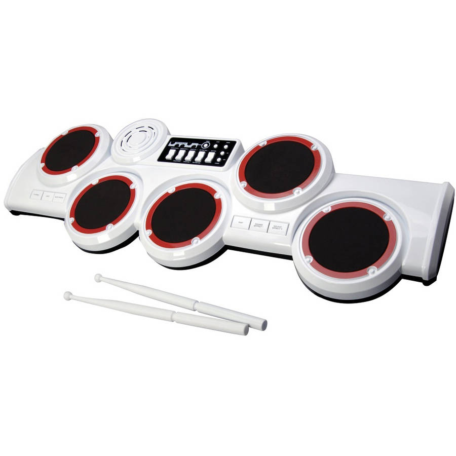 Little Virtuoso Pro Rock 5-Pad Electronic Drum Set by