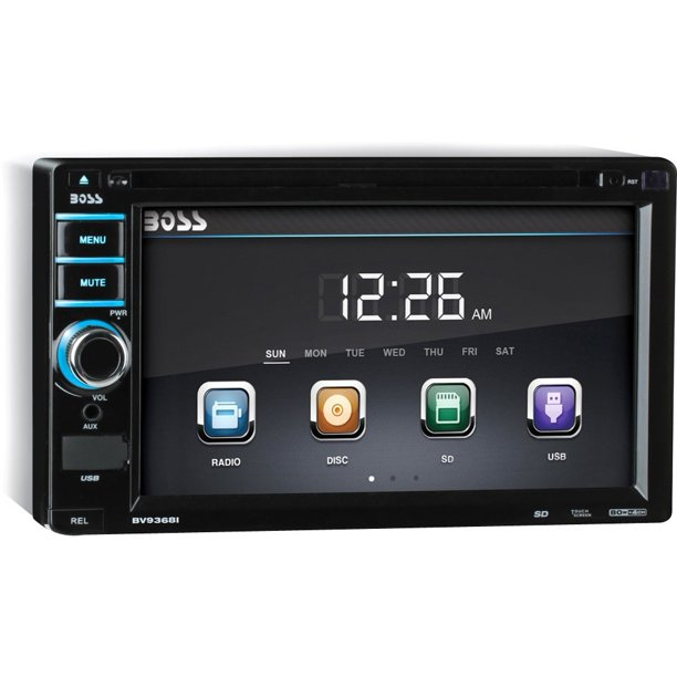 In-Dash Double-DIN 6.2