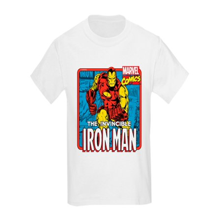 CafePress - The Invincible Iron Man - Kids Light T-Shirt](Iron Man Clothes For Kids)