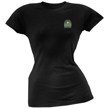 St. Patricks Day - Murphy's Irish Pub Slainte Barkeep Black Soft Juniors T-Shirt