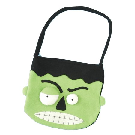 Monster Trick or Treat Hand Bag Witch Candy Halloween Costume Accessory (Minecraft Trick Or Treat Bag)
