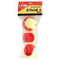 Stage 3 Red Felt 3 Tennis Ball Poly Bag