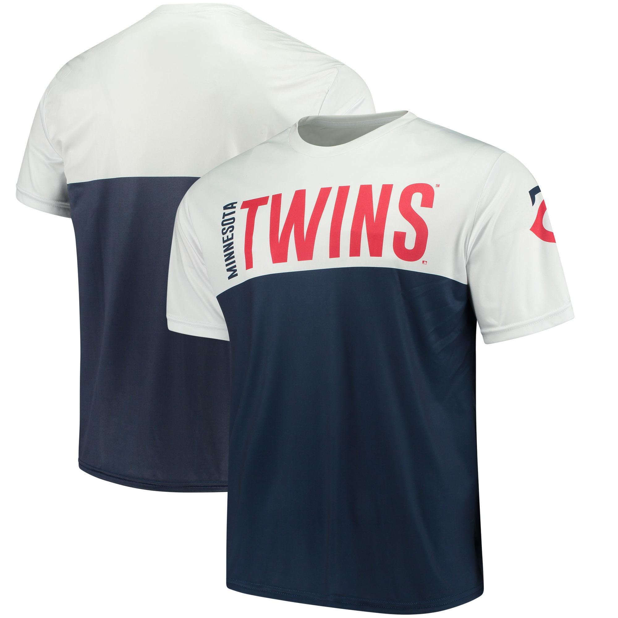 Minnesota Twins Colorblock Sublimated T-Shirt - Navy