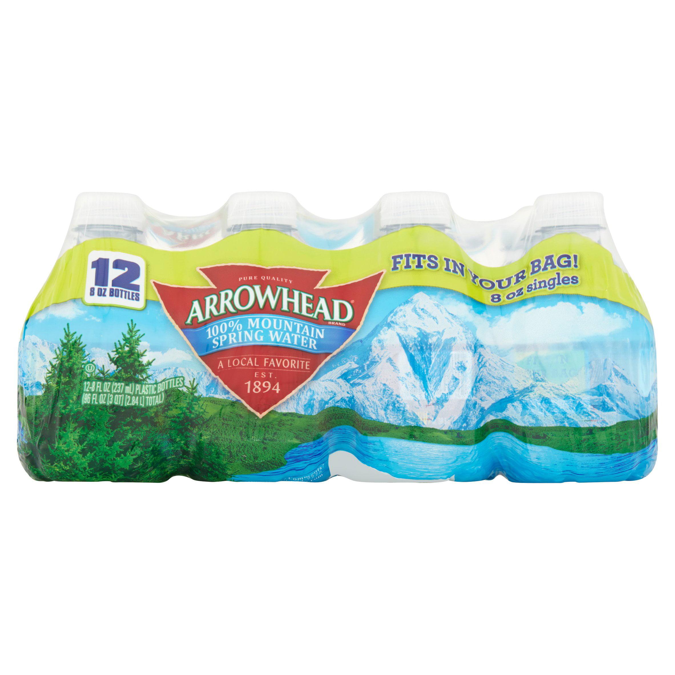 ArrowHead 100% Mountain Spring Water 12 x 8fl oz (96fl oz) by Nestlé Waters North America Inc.