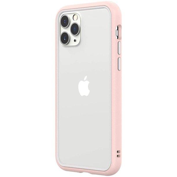 Rhinoshield Crashguard Nx Modular Bumper Case For Iphone 11 Pro Blush Pink Frame White Rim Button Walmart Com Walmart Com