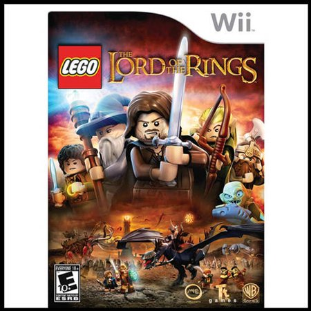 Lego The Lord Of The Rings (Wii) - Pre-Owned