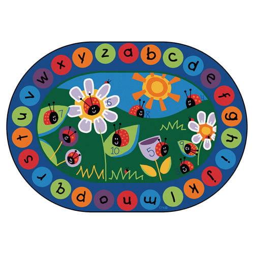 Carpets for Kids Circletime Ladybug Area Rug