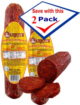 Chorizo Cantimpalo Quijote 16 oz.Pack of 2 by