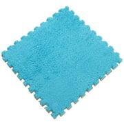 Patchwork Plush Foam Crawling Pad Puzzle Child Carpet Living Room Bedroom Floor Doormat