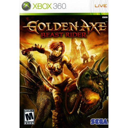 Golden Axe:Beast Rider (Xbox 360) - Pre-Owned