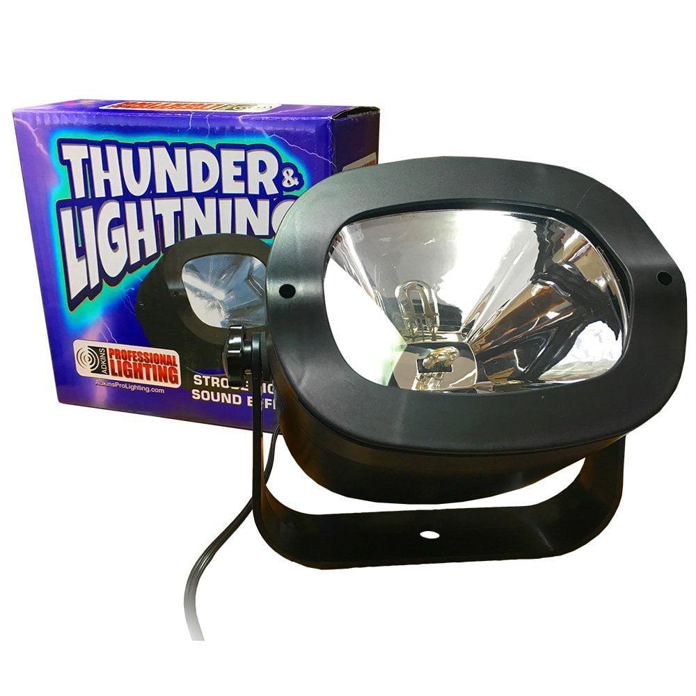 Strobe Light Thunderstrobe Simulates Thunder Lightning Great For Halloween Decoration