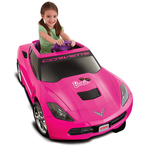 Power Wheels Corvette 12 Volt Battery Powered Ride On