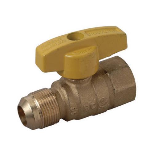 Brass Craft Service Parts PSSC-60 Straight Gas Valve, 5/8...