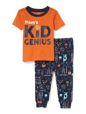 7b49d9d17c Product Image Baby And Toddler Boys  Mom s Kid Genius  Science Lab Print  Snug-Fit PJ