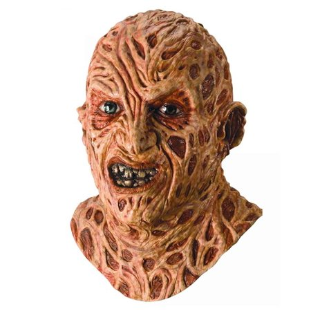 Deluxe Freddy Krueger A Nightmare on Elm Street Mask (A Nightmare On Elm Street Costume)