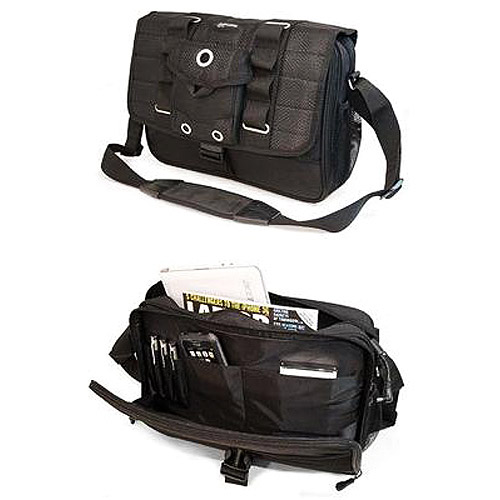 "Mobile Edge Ultra Portable Netbook Messenger Bag - Notebook carrying case - 13.3"" - black"