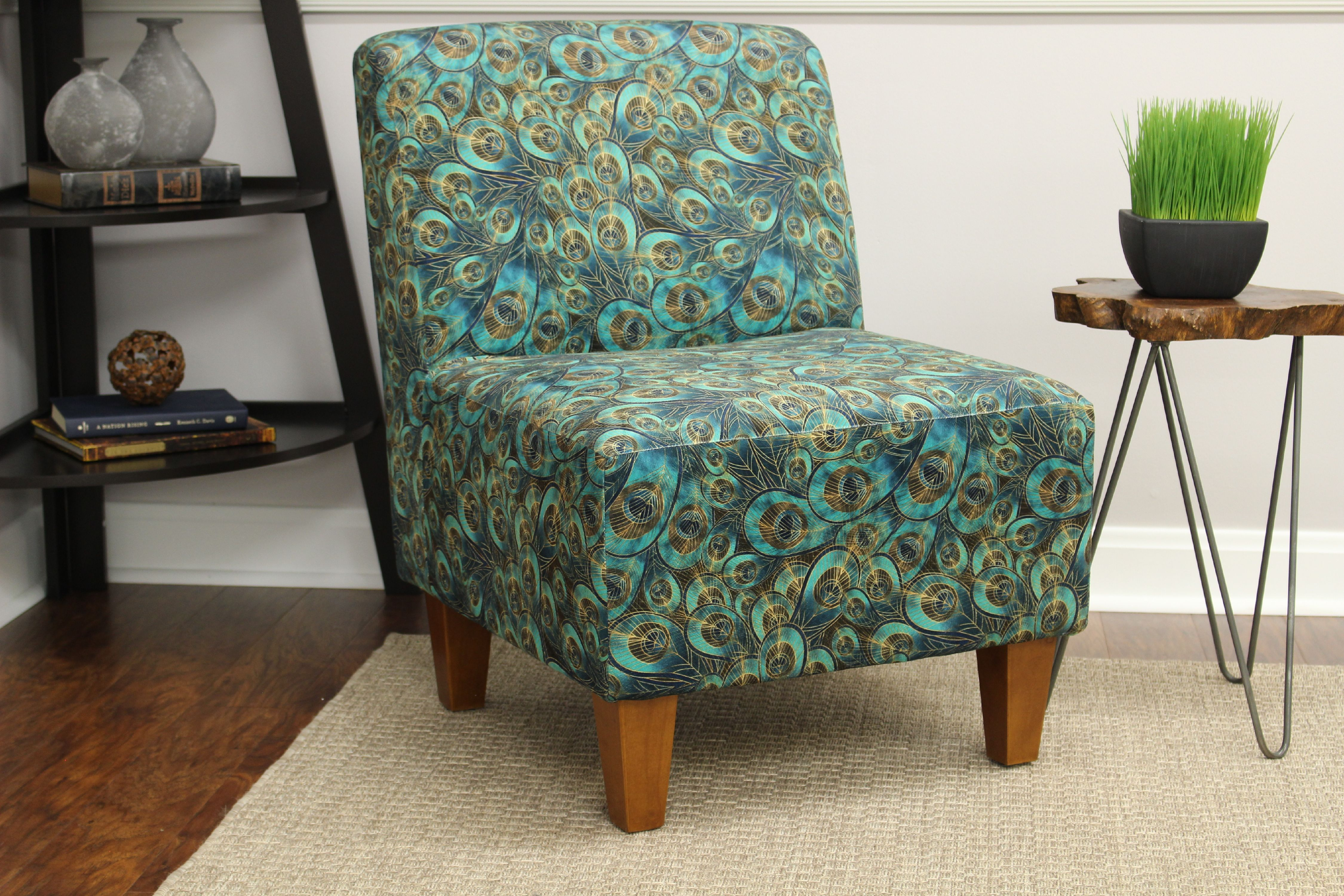 Mainstays Amanda Armless Accent Chair